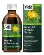 Gaia Herbs - Rapid Relief Immune Support Bronchial Wellness Herbal Syrup - 5.4 oz. by Gaia Herbs