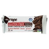 NuGo Nutrition - Gluten Free Bar Dark Chocolate Crunch - 1.59 oz., from category: Health Foods
