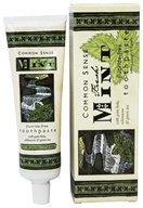 Common Sense Farm - Toothpaste Fluoride-Free Fresh Mint - 6 oz. - $6.75