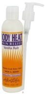 Aloe Life - Body Heat Pain Relief Vanilla Rub - 8 oz.