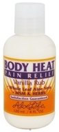 Aloe Life - Body Heat Pain Relief Vanilla Rub - 4 oz.