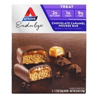 Endulge Treats Bars Box Mousse de caramelo de chocolate - 5 Bars by Atkins