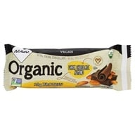 NuGo Nutrition - Organic Bar Dark Chocolate Almond - 1.76 oz. (691535485013)