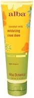 Alba Botanica - Alba Hawaiian Moisturizing Cream Shave Coconut Milk - 5 oz. (724742008925)