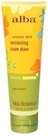Image of Alba Botanica - Alba Hawaiian Moisturizing Cream Shave Coconut Milk - 5 oz.