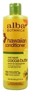 Alba Botanica - Alba Hawaiian Hair Conditioner Dry-Repair Cocoa Butter - 12 oz. - $7.04