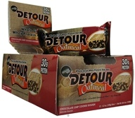 Forward Foods - Detour Oatmeal Whey Protein Bar Chocolate Chip Cookie Dough - 4.2 oz.