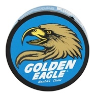 Golden Eagle - Herbal Chew Non-Tobacco Chews Licorice Mint - 1.2 oz. (086085777662)
