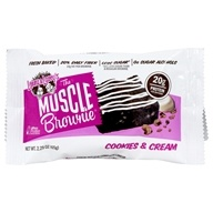 Muscle Brownie Cookies & Cream - 2.29 oz.