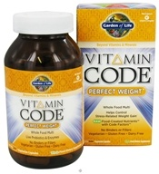 Garden of Life - Vitamin Code Perfect Weight Formula - 240 Vegetarian Capsules