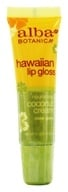 Alba Botanica - Alba Hawaiian Clear Lip Gloss Coconut Cream - 0.42 oz.