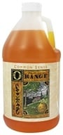 Common Sense Farm - Hand & Body Cleanser Valencia Orange - 64 oz. by Common Sense Farm