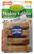 Nylabone - Healthy Edibles Natural Bacon Flavor - 8 Chewables by Nylabone