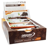 Organic Food Bar - Raw Chocolatey Chocolate Chip - 1.76 oz., from category: Nutritional Bars