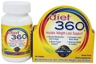Garden of Life - Diet 360 Holistic Weight Loss Support - 90 Caplets