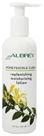 Image of Aubrey Organics - Honeysuckle CoQ10 Replenishing Moisturizing Lotion - 8 oz.