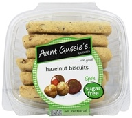 Aunt Gussie's - Spelt Biscotti Sugar Free Hazelnut - 8 oz., from category: Health Foods