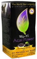 Wu-Yi Tea Company - Wu-Yi Acai Powder Tea Acai Berry-Grape - 25 Tea Bags