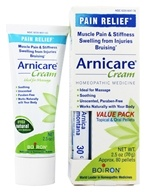 Boiron - Arnicare Arnica Cream Value Pack + 1 - 30 C Arnica Montana Blue Tube! (70 g) - 2.5 oz. LUCKY PRICE
