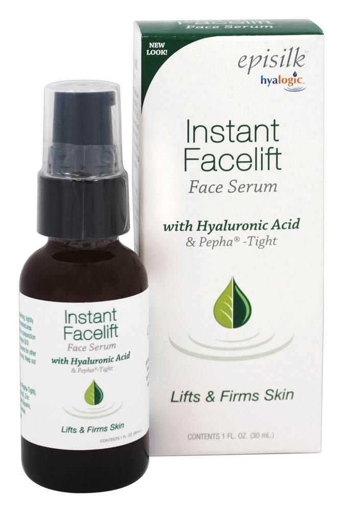 Hyalogic - Episilk Instant Facelift Serum (IFL) with Hyaluronic Acid and Pepha Tight - 1 oz.