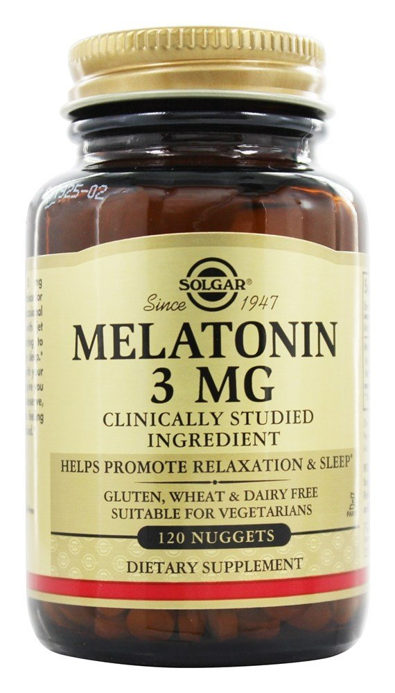 Solgar - Melatonin 3 mg. - 120 Nugget(s)