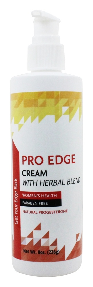 Libido Edge Labs - Women's Pro Edge Cream Formulated with Herbal Blend - 8 oz. formerly Progesterone Cream with Adrenal Support