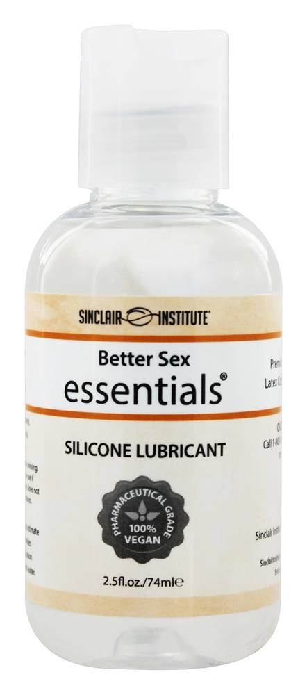 Sinclair Institute - Better Sex Essentials Silicone Lubricant Extra Long Lasting Premium Grade - 2 oz.
