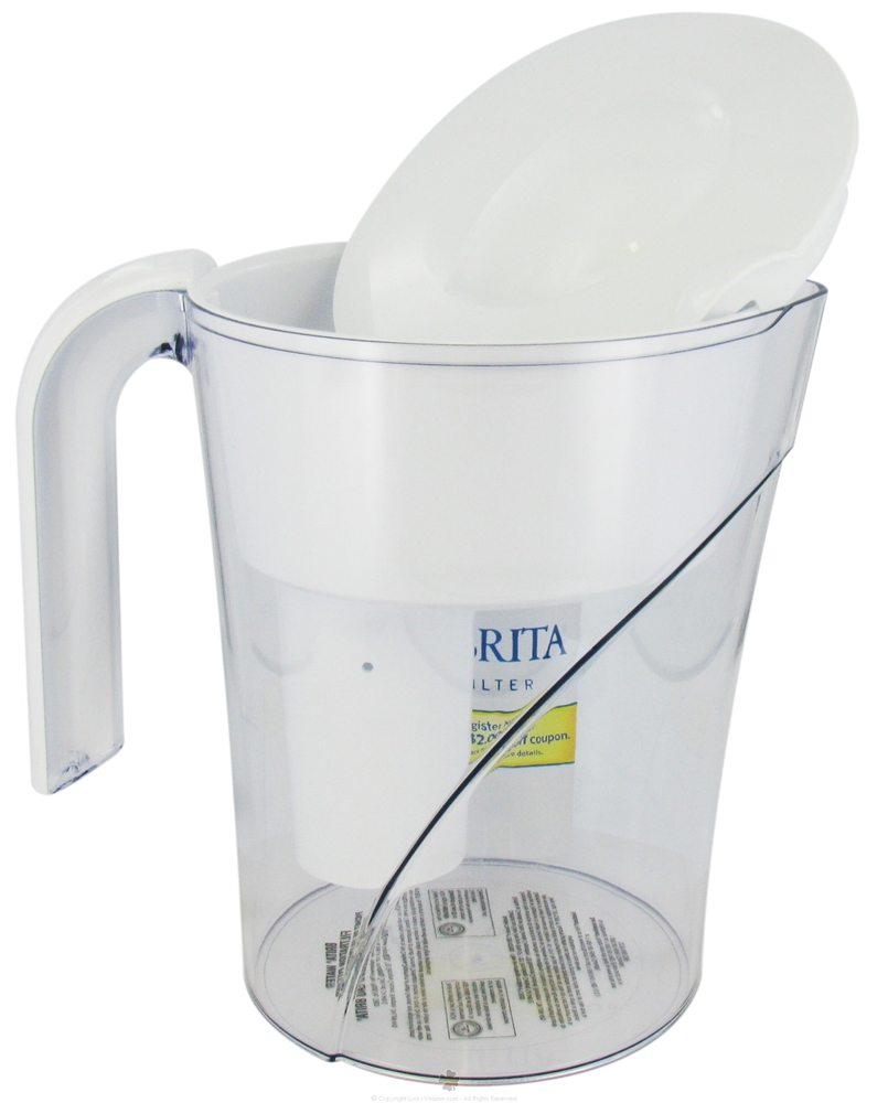 Brita - Pitcher Water Filtration System Classic Model - 48 oz. CLEARANCE PRICED