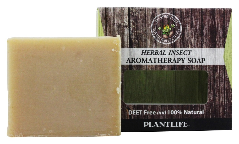 Plantlife Natural Body Care - Pest-Off Herbal Soap Deet Free - 4 oz.