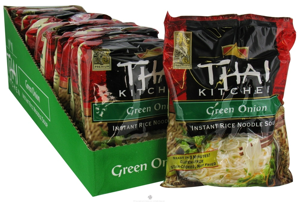 Thai Kitchen - Instant Rice Noodle Soup Green Onion without I&G - 1.6 oz.