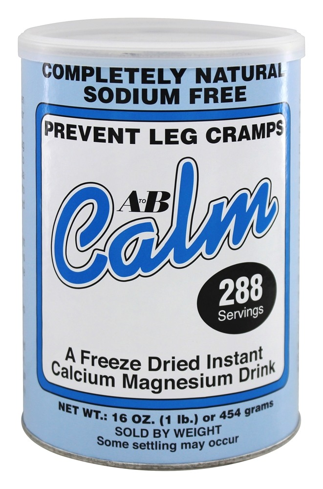 A to B Calm - Original Freeze-Dried Instant Calcium Magnesium Drink - 16 oz.