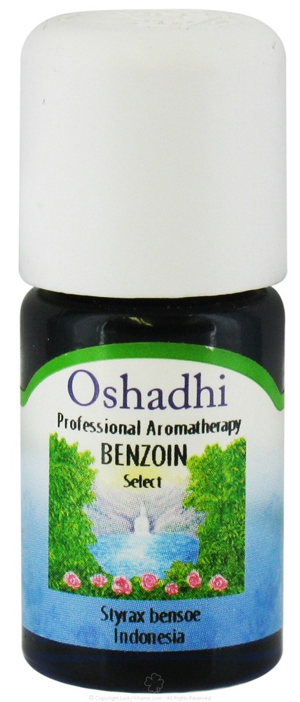 Oshadhi - Professional Aromatherapy Benzoin Select Essential Oil - 5 ml.