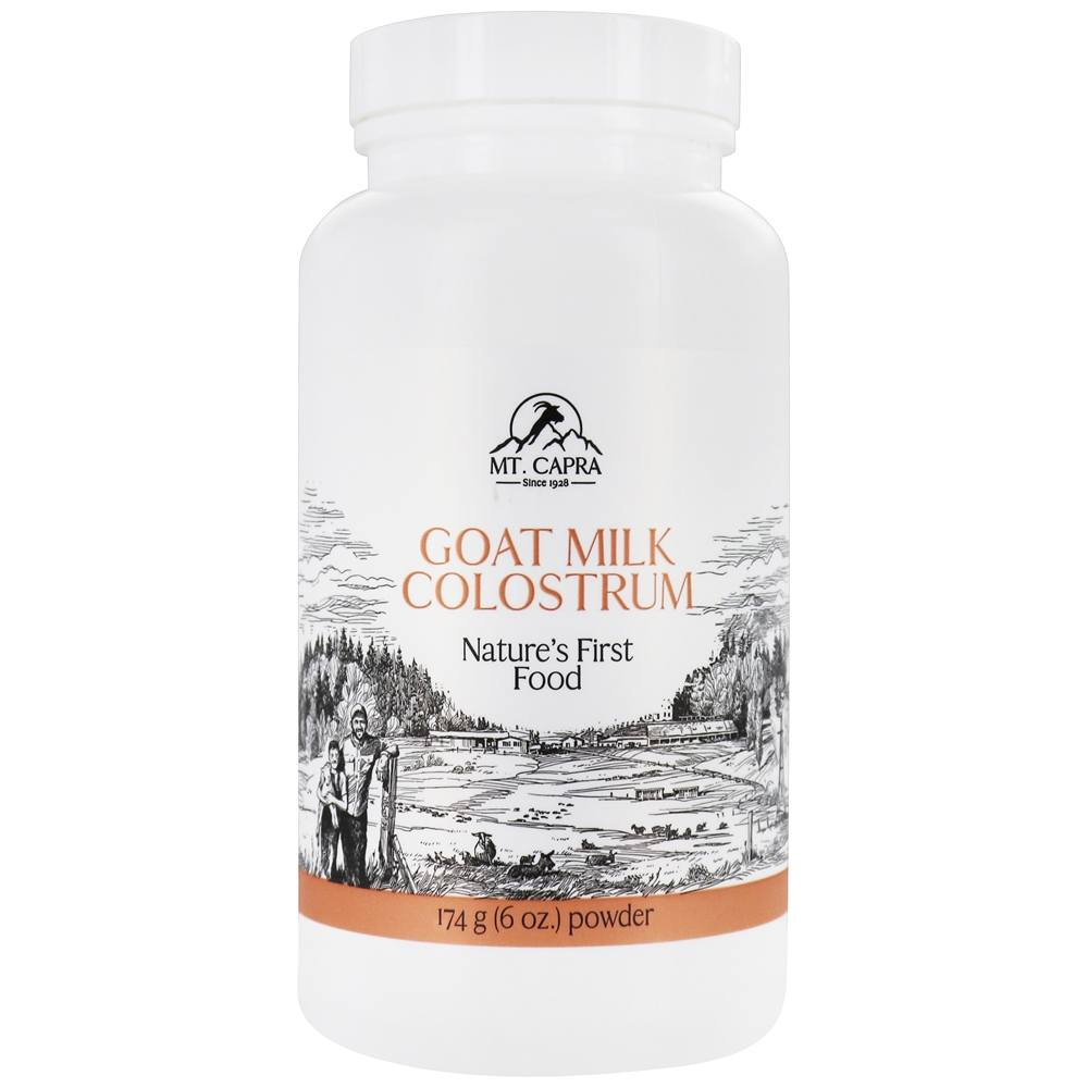 Mt. Capra Products - CapraColostrum Goat Milk Colostrum - 174 Grams