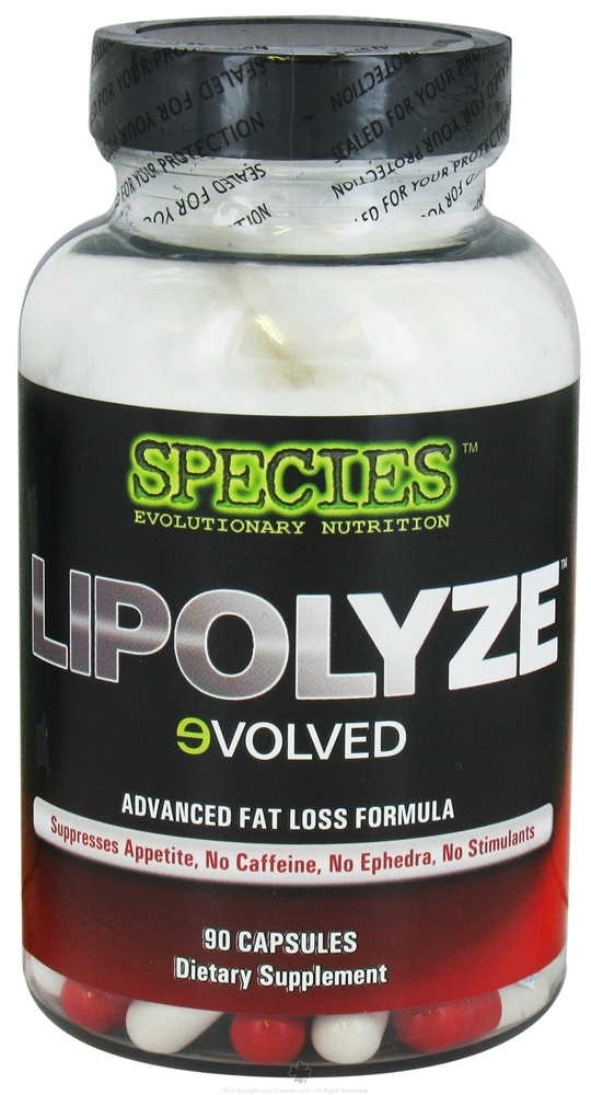 Species Nutrition - Lipolyze Evolved Advanced Fat Loss Formula - 90 Capsules