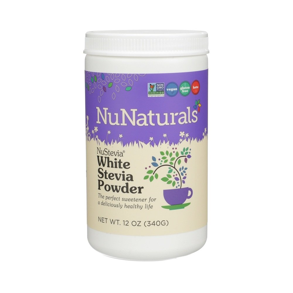 NuNaturals - NuStevia White Stevia Powder - 12 oz.