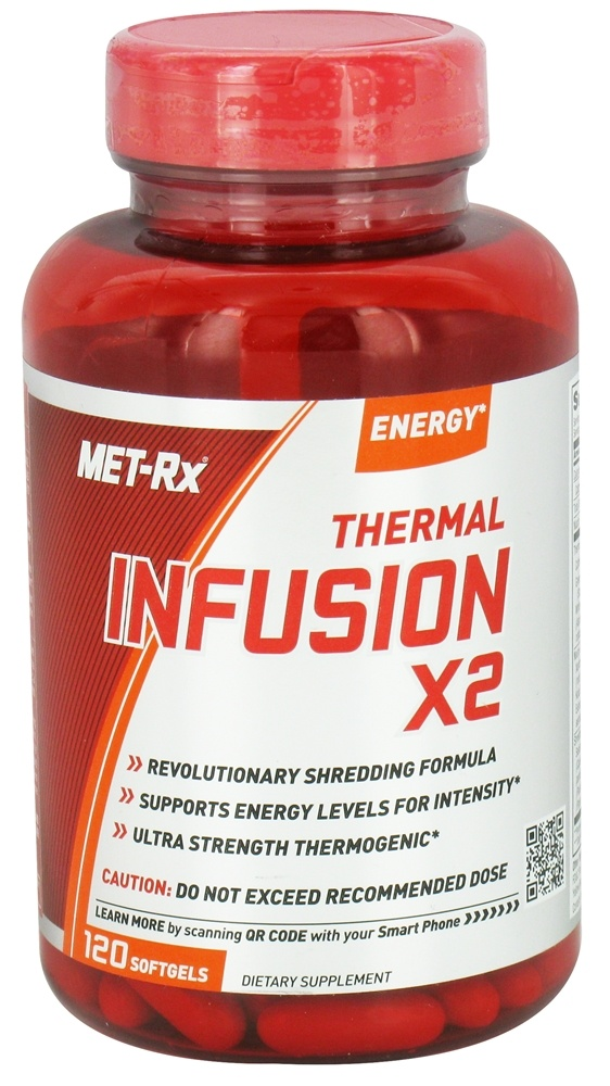 MET-Rx - Thermal Infusion X2 - 120 Softgels