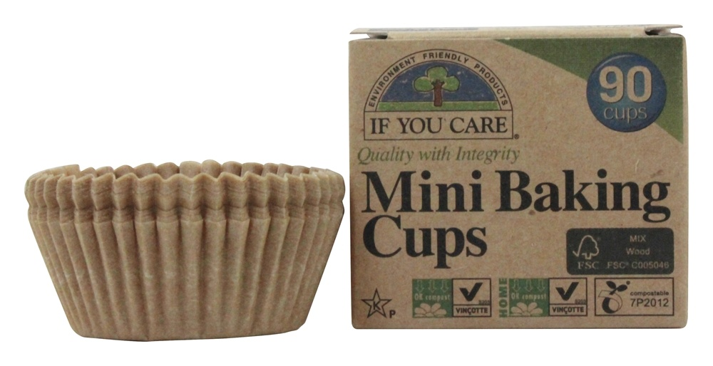 If You Care - Mini Baking Cups Unbleached Totally Chlorine-Free (TCF) - 90 Cup(s)