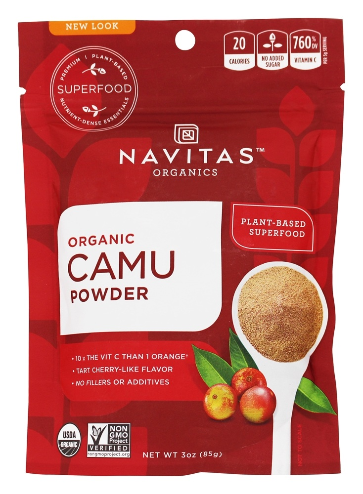 Navitas Naturals - Raw Camu Camu Powder Rainforest Superfruit - 3 oz.