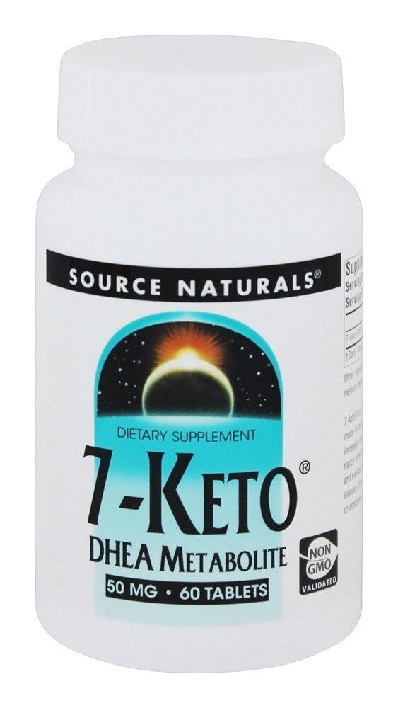 Source Naturals - 7-Keto DHEA Metabolite 50 mg. - 60 Tablets