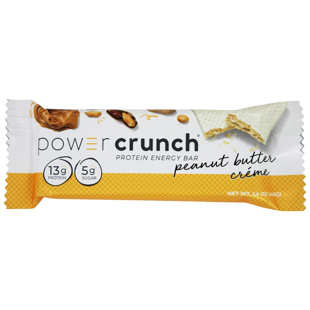 BioNutritional Research Group - Power Crunch Protein Energy Wafer Bar Peanut Butter Creme - 1.4 oz.