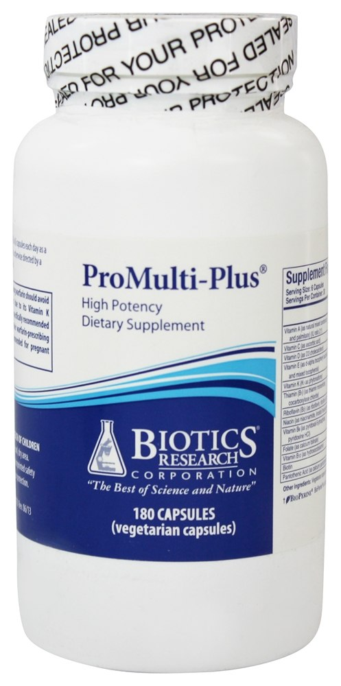 Biotics Research - ProMulti-Plus High Potency - 180 Capsules