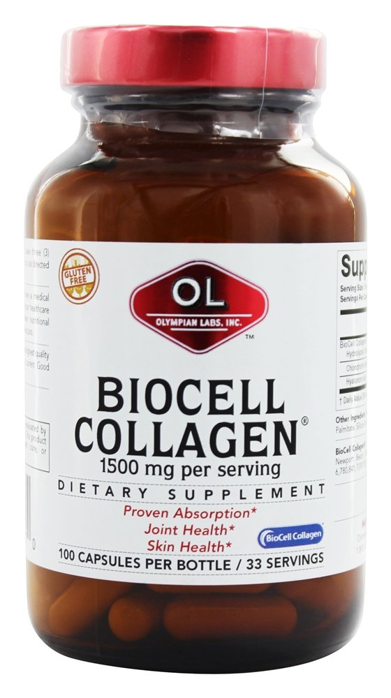 Olympian Labs - BioCell Collagen II 100% - 100 Capsules (formerly with Pure Chicken Sternal Cartilage)
