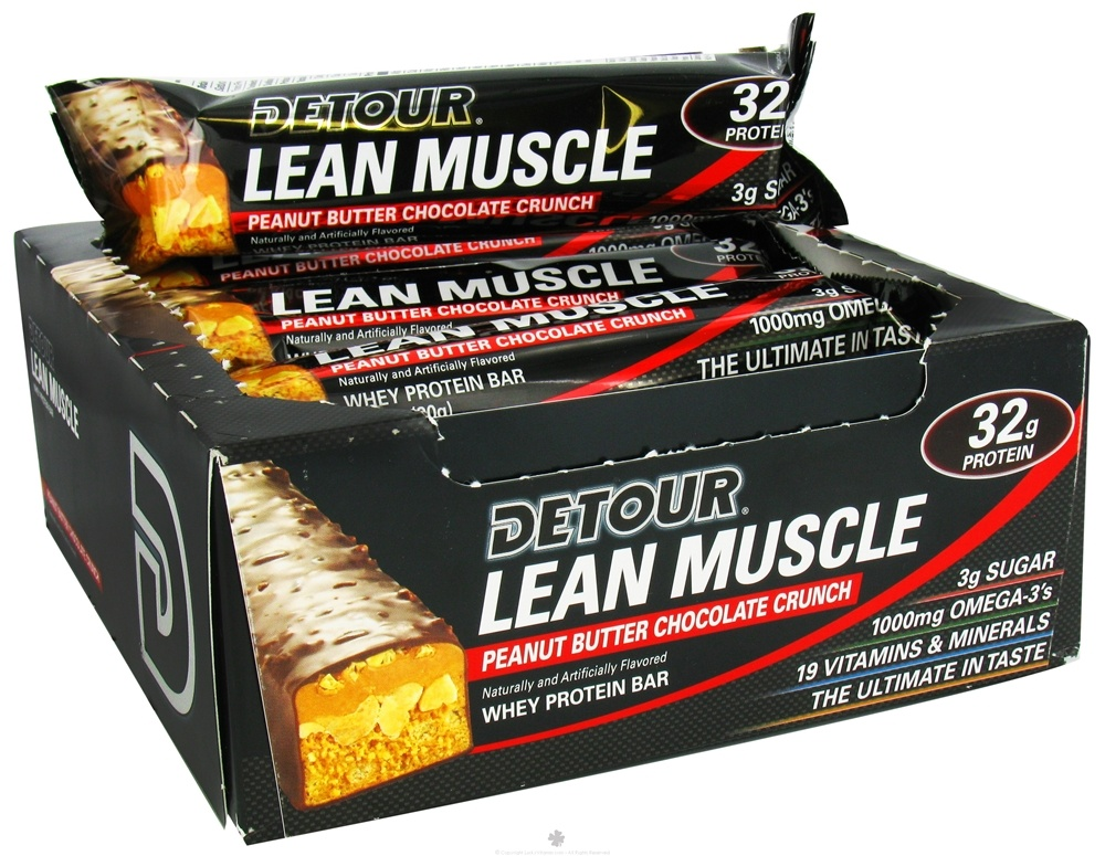 Forward Foods - Detour Lean Muscle Bar Peanut Butter Chocolate Crunch - 3.2 oz.