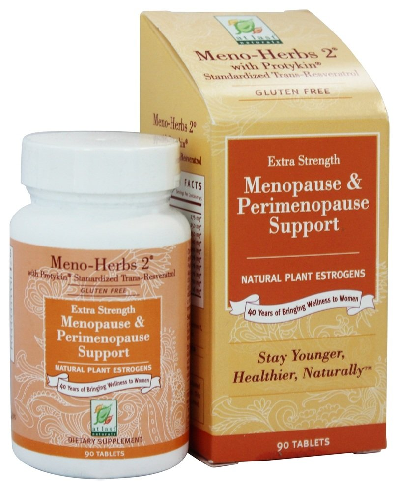 At Last Naturals - Meno Herbs 2 With Protykin - 90 Tablets