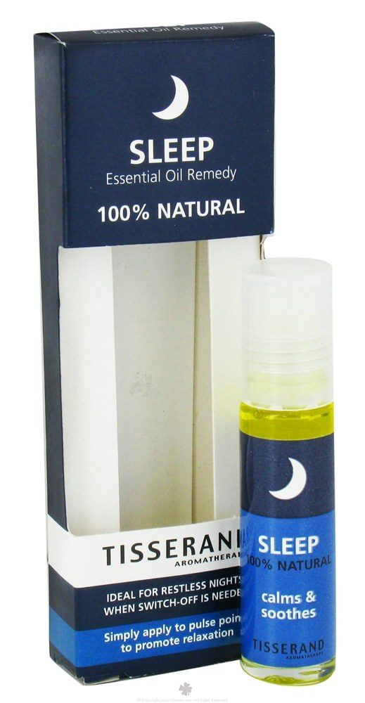 Tisserand Aromatherapy - Roller Ball Sleep Essential Oil Remedy - 0.3 oz.