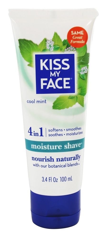Kiss My Face - Moisture Shave Cool Mint - 3.4 oz.