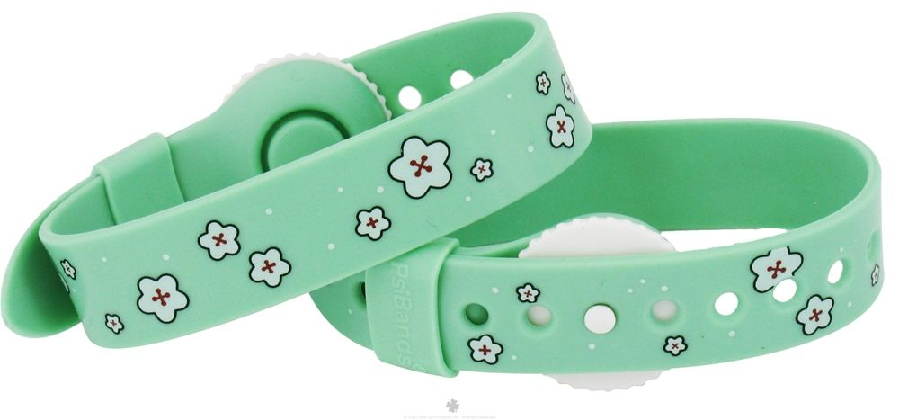 Psi Bands - Nausea Relief Wrist Band Drug Free Cherry Blossom - 2 Band(s)