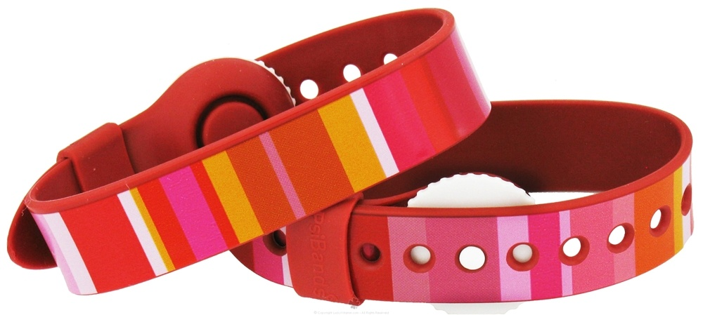 Psi Bands - Nausea Relief Wrist Band Drug Free Color Play - 2 Band(s)