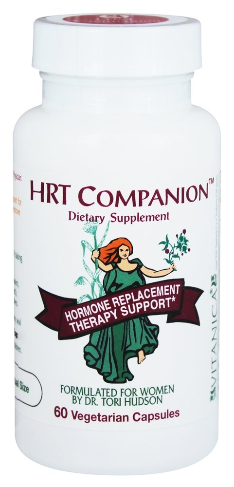 Vitanica - HRT Companion Hormone Replacement Therapy Support - 60 Vegetarian Capsules