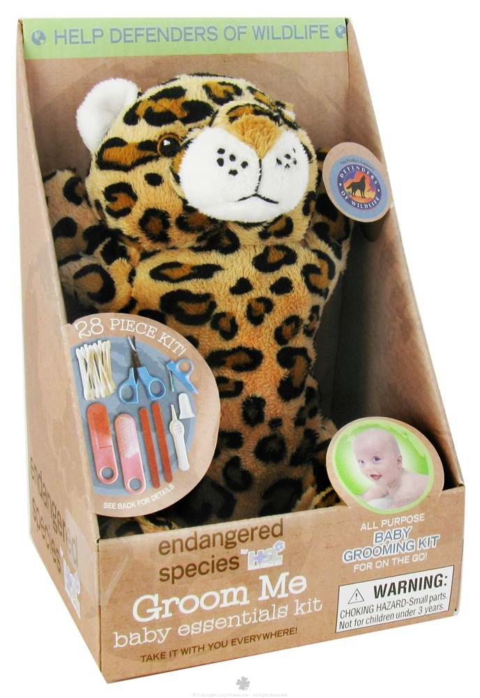 Health Science Labs - Endangered Species Groom Me Baby Essentials Kit Wild Cat - 28 Piece(s) CLEARANCE PRICED